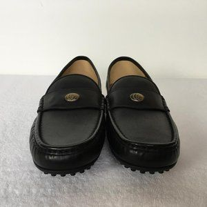 Gucci Men Bee GG Black Color Loafers Gold g66